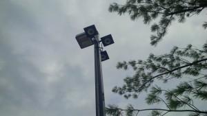 Driveway gate video surveillance