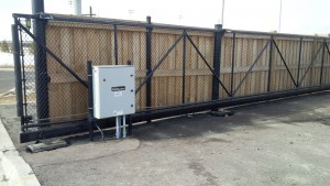 Driveway Gate With Reinforced Steel