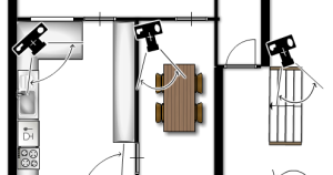 surveillance cameras floor planner