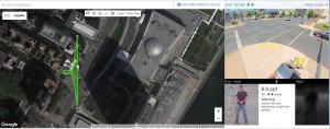 surveillance camera range simulator