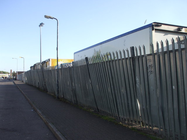 sagging security fence