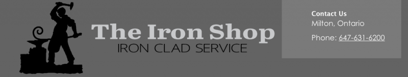 Iron shop website